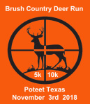 Brush Country Deer Run registration logo