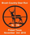 Brush Country Deer Run registration logo