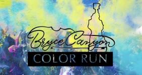 Bryce Canyon Color Run registration logo