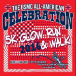 BSMC All American Glow Run registration logo