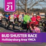 Bud Shuster Run for Your Life Race registration logo