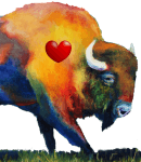 Buffalo Stampede Half Marathon & 5K registration logo
