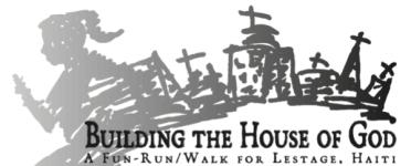 Building the House of God 5K registration logo