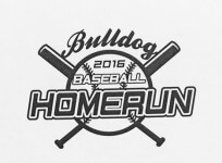 Bulldog Homerun 5K Run/2K Walk registration logo