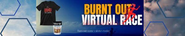 Burnt Out Virtual Race registration logo