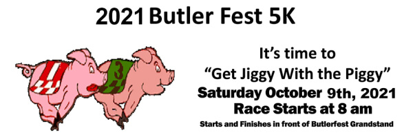 Butler Fest 5K & 2 Mile Walk registration logo