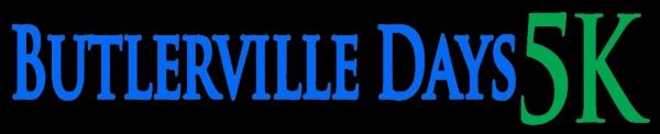 Butlerville Days 5K registration logo