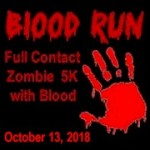 BVR - Blood Run 5K registration logo