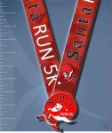 BVR - Santa Run 5K registration logo