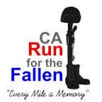 CA Run For the Fallen registration logo