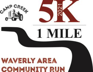 Camp Creek 5K registration logo