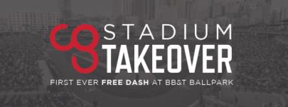 Camp Gladiator Stadium Takeover registration logo
