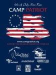 Camp Patriot 4th of July Fun Run - Great Falls, MT registration logo
