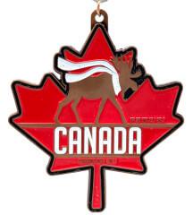Canada Day 1M 5K 10K 13.1 and 26.2 registration logo