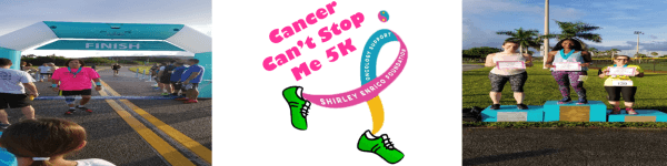 Cancer Can't Stop Me 5K registration logo