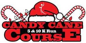 Candy Cane Course 5K & 10K registration logo