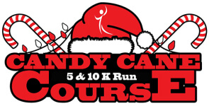 Candy Cane Course 5K & 10K registration logo