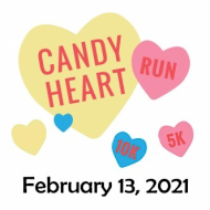 Candy Heart Run 5K registration logo