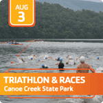 Canoe Creek Races registration logo