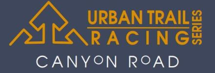 Canyon Road Trail Race, UTR10 registration logo