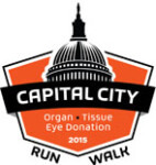 Capital City 5K for Organ, Tissue, and Eye Donation registration logo