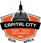 Capital City 5K for Organ, Tissue, and Eye Donation registration logo
