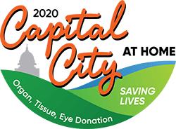 Capital City AT HOME for Organ, Tissue & Eye Donation registration logo