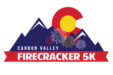 Carbon Valley Firecracker 5K registration logo