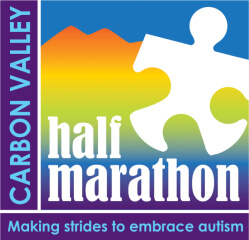 Carbon Valley Half Marathon & 5K registration logo