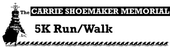 Carrie Shoemaker Memorial 5K registration logo