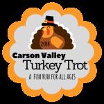 Carson Valley Turkey Trot 5K - Minden registration logo
