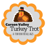Carson Valley Turkey Trot registration logo