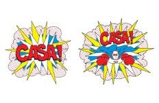 CASA Superhero Run - Bakersfield registration logo