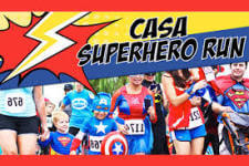 Casa Superhero Run registration logo