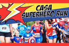 Casa Superhero Run registration logo