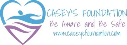 CASEY'S FOUNDATION BE AWARE & BE SAFE 5K registration logo