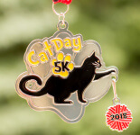 Cat Day 5K & 10K registration logo