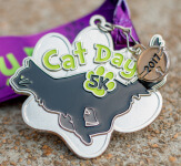 Cat Day 5K - Clearance from 2017 registration logo