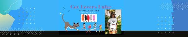 Cat Lovers Virtual Race registration logo