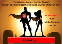 Catch The Shield Superhero 5K & 1 Mile Family Fun Run registration logo
