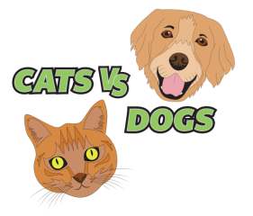 Cats VS Dogs Virtual Race registration logo