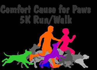 Cause for Paws 5K Run/Walk registration logo