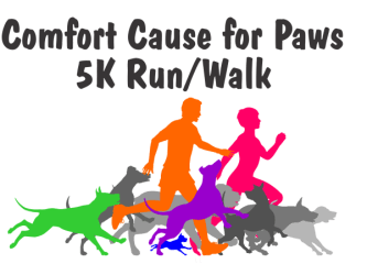 Cause for Paws 5K Run/Walk registration logo