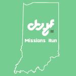 CBYF Missions Run registration logo