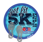 Get Fit 5K Fun Run & Walk  registration logo