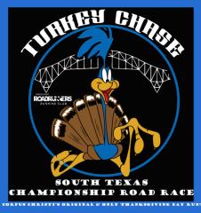 CCRR South Texas Turkey Chase 5K Championship registration logo