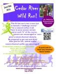 Cedar River Wild Run registration logo