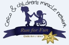 CEFCO 5k Fun Run registration logo