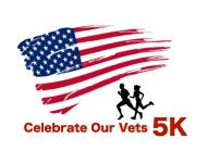 Celebrate Our Vets 5k registration logo