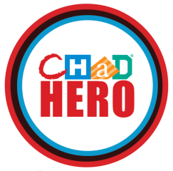 CHaD Hero Half Marathon & 5K registration logo